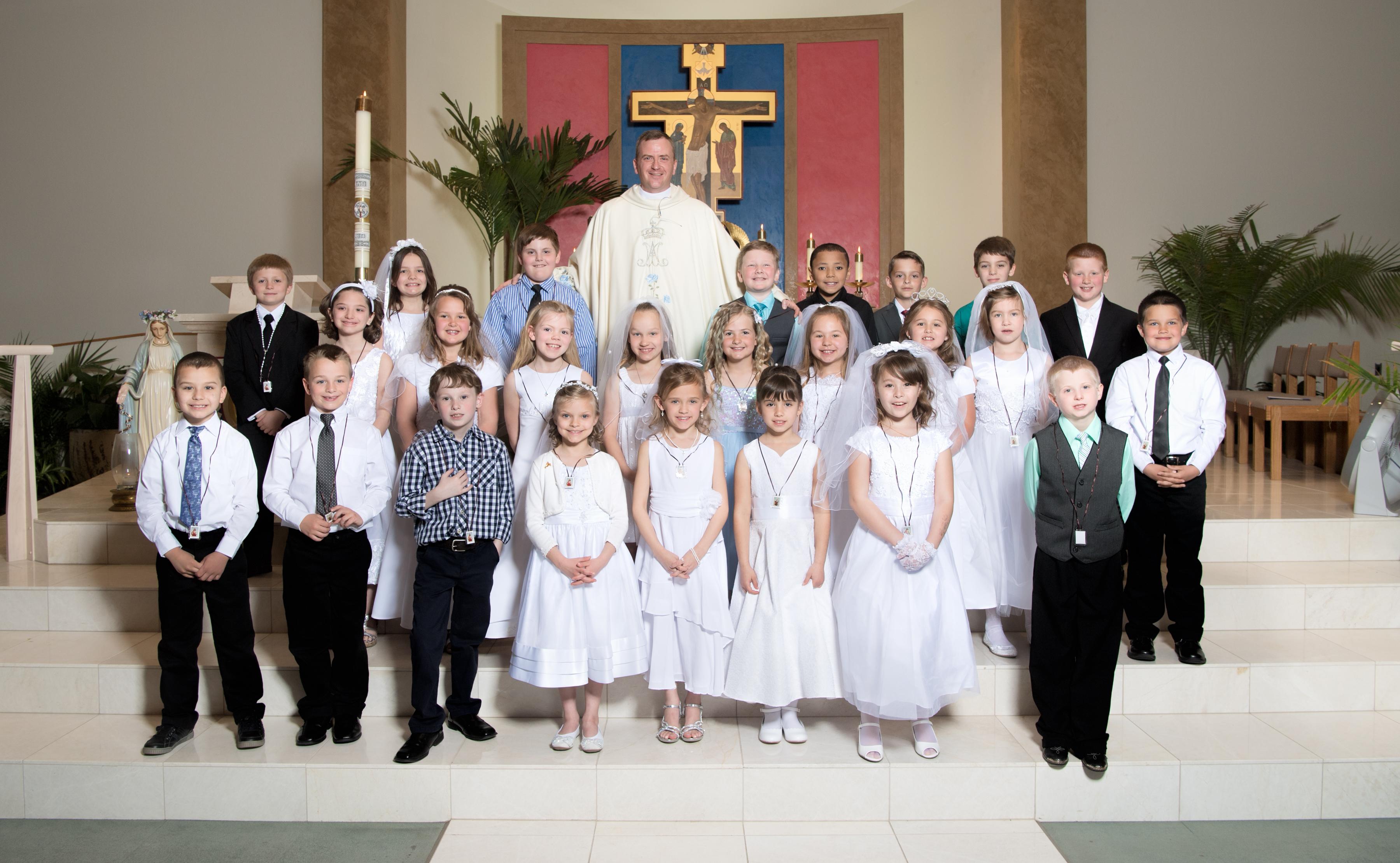 spirit of life roman catholic church eucharist first communion