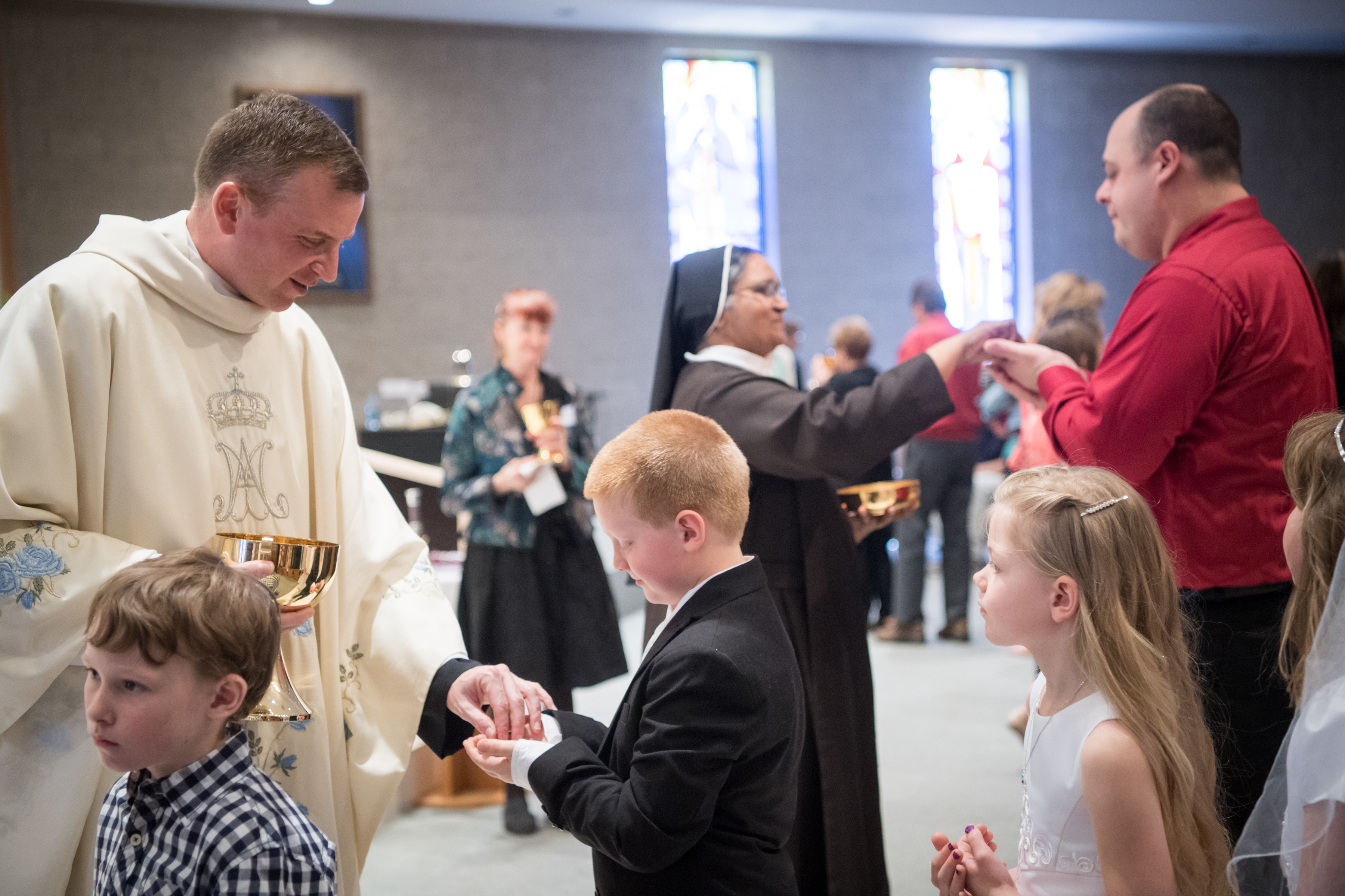 Communion for the first time - how to prepare